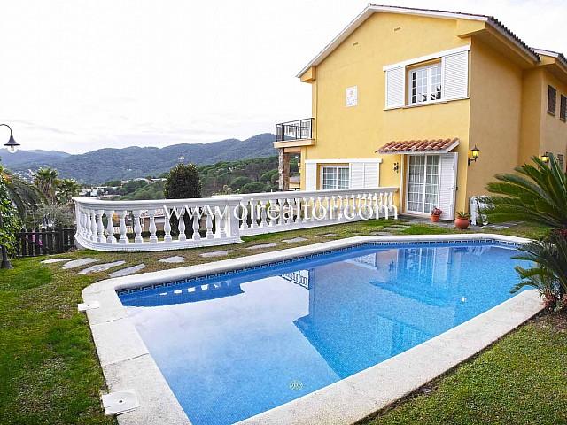 Detached house for sale in La Llobera area in Cabrils, Maresme