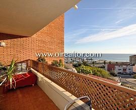 Appartement à vendre avec vues spectaculaires sur le Balis, Sant Andreu de Llavaneres