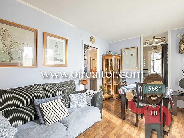 Preciós pis en venda amb vistes al mar en Sitges, Garraf