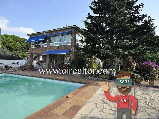Maison exclusive en vente avec jardin et piscine à Premià de Dalt, Maresme
