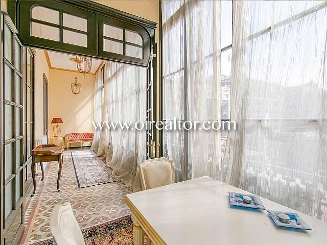 Appartement unique à vendre dans un immeuble d'époque à Rambla Catalunya, Eixample Dreta