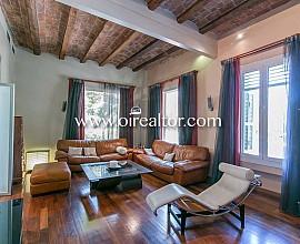 Casa catalogada modernista en venda a Sant Gervasi, Les Tres Torres