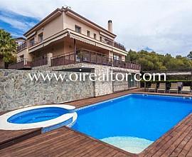 Casa con vistas espectaculares en Can Girona, Sitges