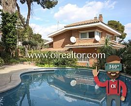 Espectacular casa a los 4 vientos en la zona de Montmar, Castelldefels