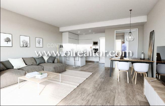 Продается роскошная новая квартира в Вальпинеда, Ситжес
