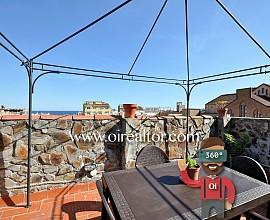 Exclusivo ático dúplex con vistas al mar en el centro de Badalona