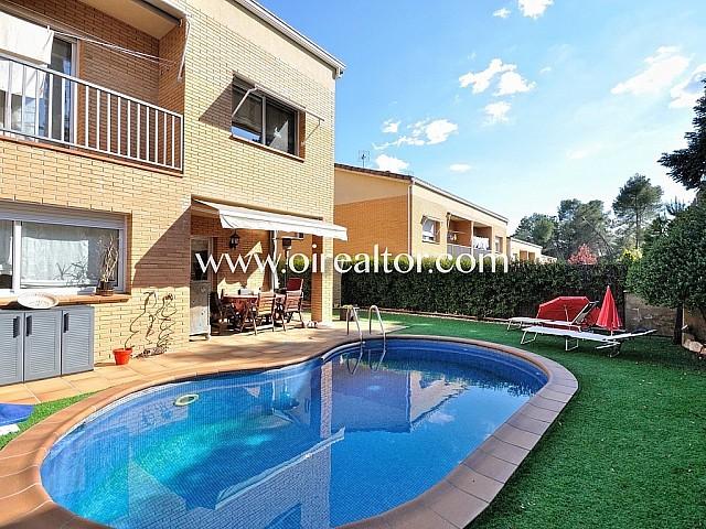 Fabulosa casa cantonera amb piscina climatitzada a Sant Quirze del Vallès