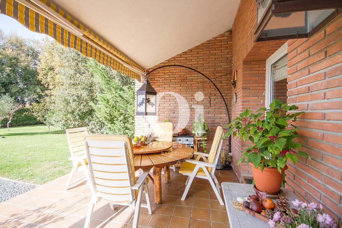Terraza de casa en venta en Vilobí d'Onyar