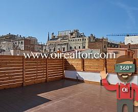 Precioso ático con terraza en El Born, Barcelona