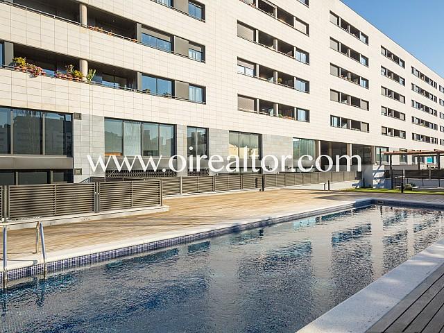 Hervorragende Wohnung am Strand in Diagonal Mar, Barcelona