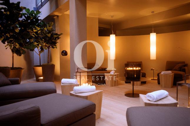 Vista de sauna de hotel en venta en Villa Olímpica de Poblenou, Barcelona