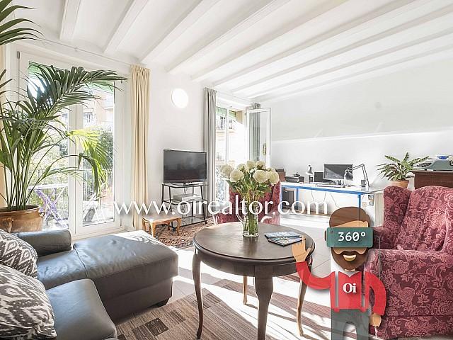 Продается солнечная квартира в центре Барселоны