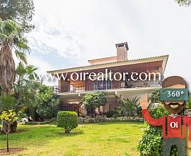 Magnífica casa con espectacular parcela en Cal Cego, Cunit