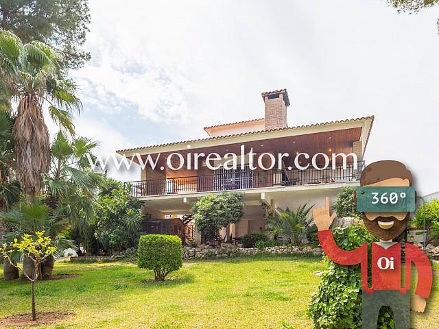 Magnífica casa amb espectacular parcel·la a Cal Cego, Cunit