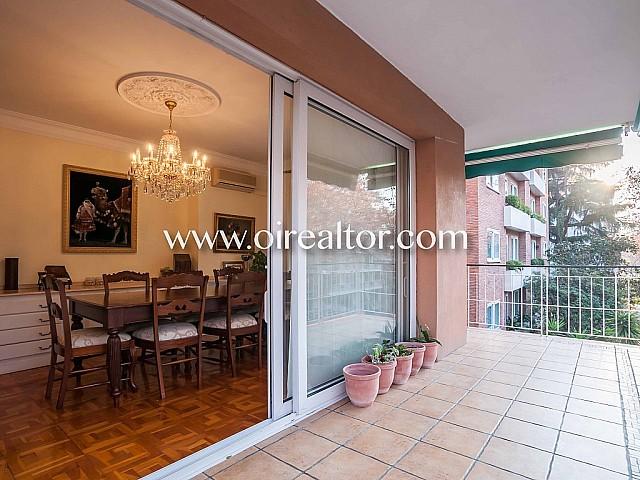宽敞的公寓销售面临的Bonanova,巴塞罗那3个风