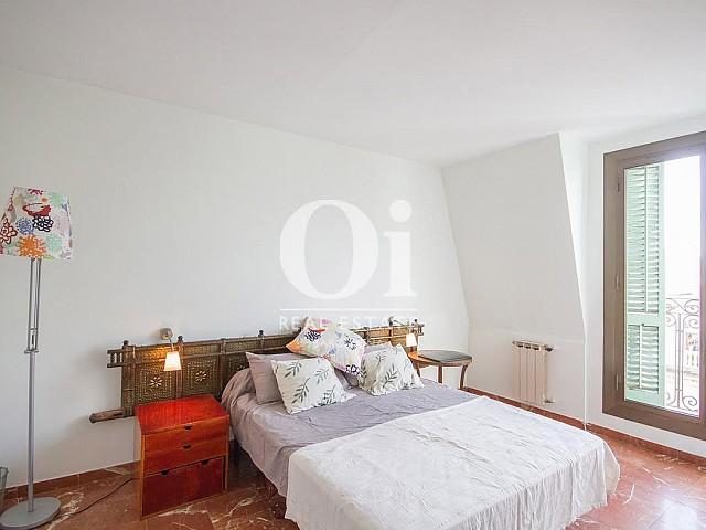 Vistas de dormitorio principal de dúplex en alquiler en Sant Gervasi, Barcelona