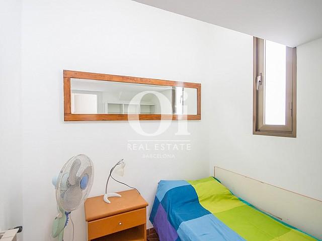 Vistas de dormitorio de dúplex en alquiler en Sant Gervasi, Barcelona