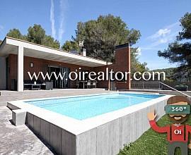 Preciosa casa con piscina particular en Mas Alba, Sant Pere de Ribes