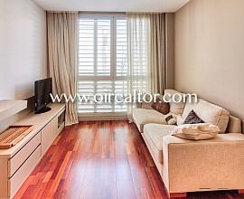 Magnífico piso alto y exterior, con mucha luz natural en Diagonal Mar, Barcelona