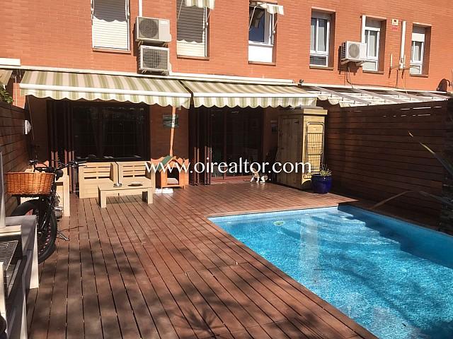 Atractiva casa pareada cercana al centro de Castelldefels
