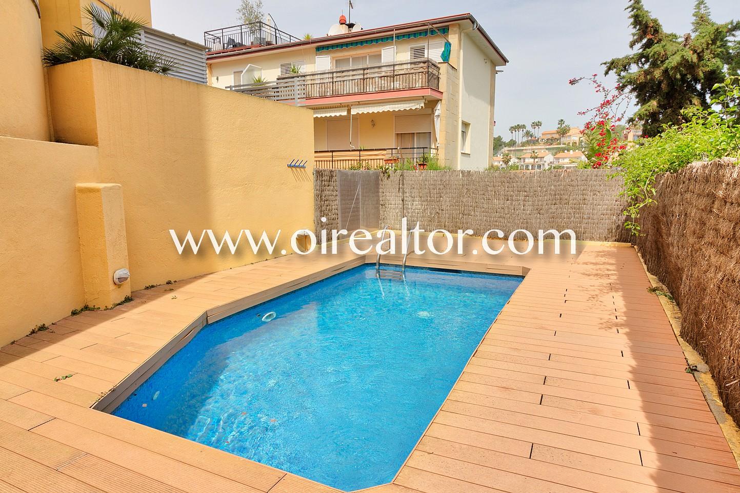 Precioso piso con piscina en vallpineda sitges oi realtor for Piscina sitges