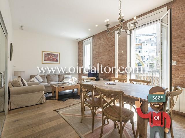 Atractiu apartament amb llicència turística a l'Eixample Dreta, Barcelona