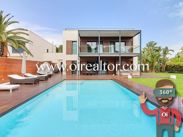 Espectacular casa de diseño en la zona más deseada de Sitges, Terramar
