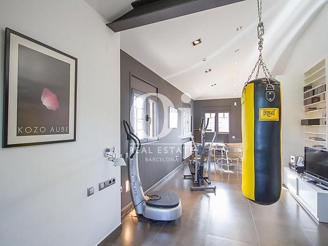 Zona gimnasio de casa en venta en Sant Just Desvern