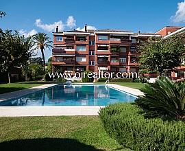 Bonito apartamento con vistas al mar en Cabrera de Mar