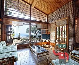 Excepcional casa en venta en Cabrera de Mar