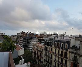 Precioso ático reformado en la izquierda del Eixample, Barcelona