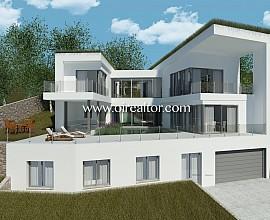 Продается новый дизайнерский дом ЭКО в Кан Жирона, Ситжес