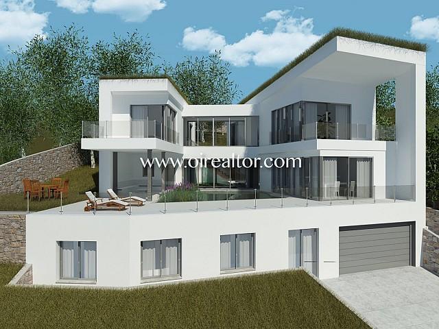 Espectacular casa de diseño ECO de obra nueva en Can Girona, Sitges