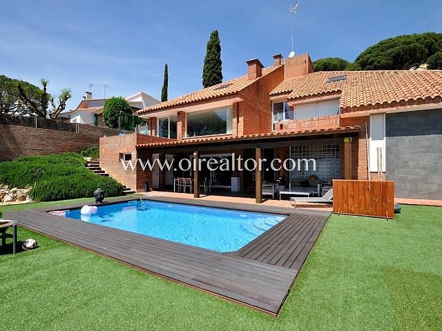 Magnífica casa en venda amb vistes al mar a Premià de Dalt