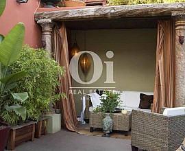 Singular ático estilo loft de diseño en venta en Nou de la Rambla