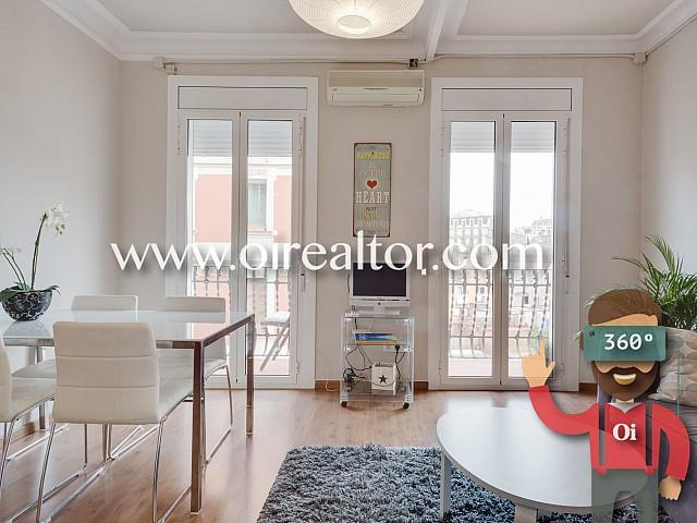Piso con licencia turística y alta rentabilidad en el corazón de Gracia, Barcelona