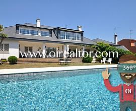 Fantástica casa de alto standing en parcela de 1.100m2 en Valldoreix Sant Cugat del Vallés