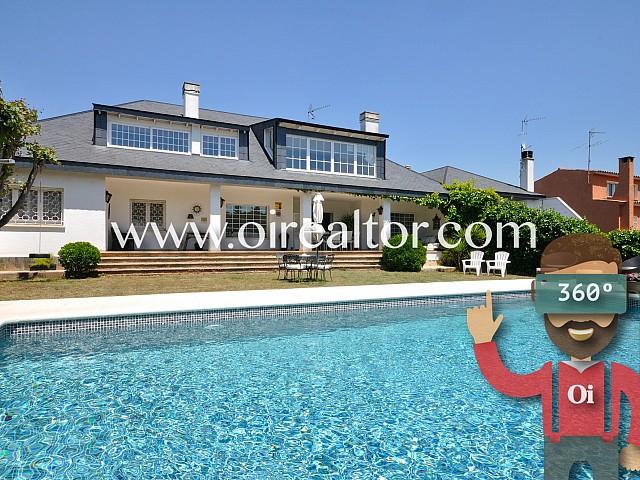 Fantastic high standing home in a 1.100 sqm plot in Valldoreix, Sant Cugat del Vallés