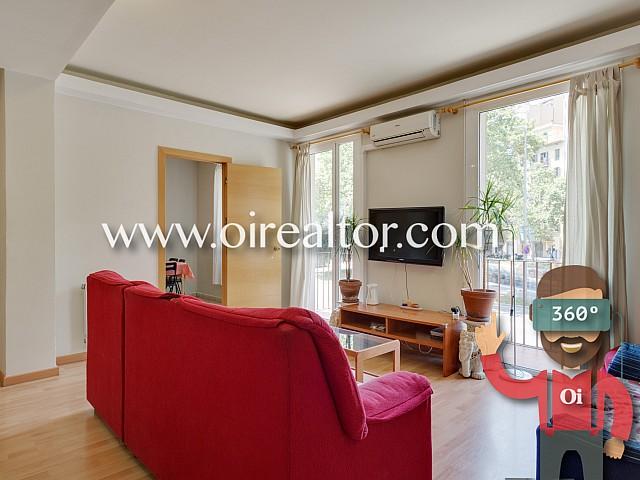 Lluminós apartament amb llicència turística a Barcelona