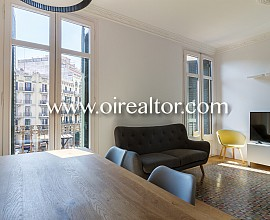 Appartement de haut standing en location au centre de Barcelone, Eixample Derecho