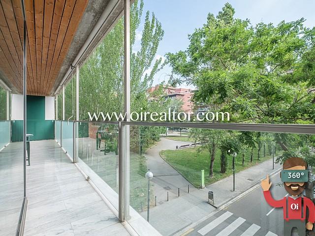 Extraordinario piso de obra nueva en Les Tres Torres, Barcelona