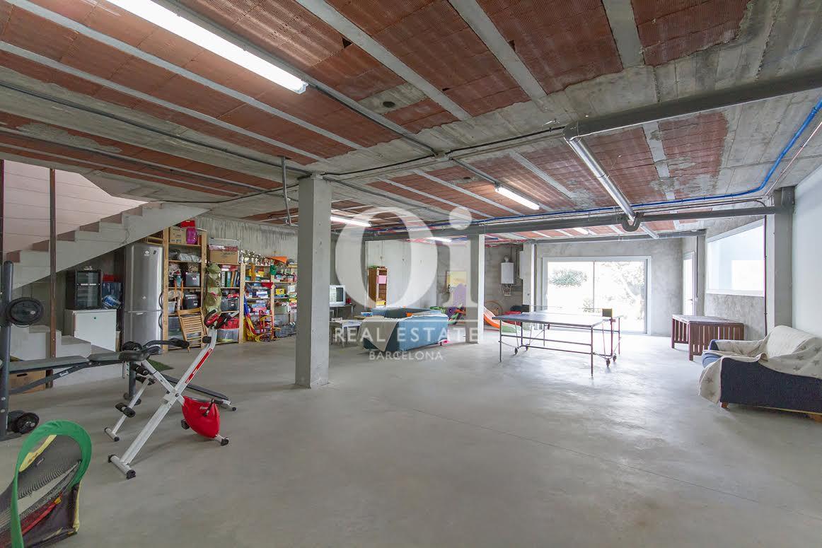 Sala de deporte en propiedad de lujo en venta en Sant Andreu de Llavaneres