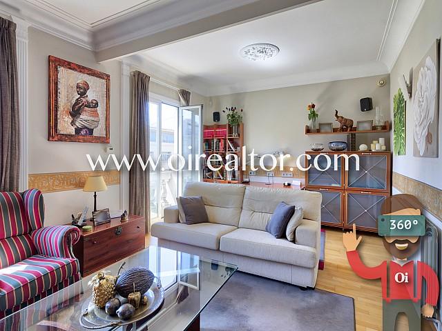 Bright apartment in the Quadrat d'Or of Barcelona