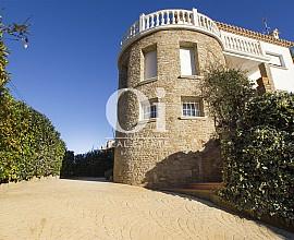 Maravillosas vistas en esta hermosa casa en venta en Pals