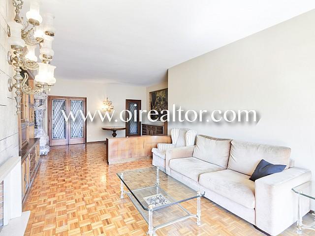 Beautiful and bright floor in a royal estate in Sagrada Familia, Barcelona