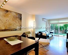 Planta baja espectacular de 3 habitaciones y con piscina en Parc Central-Sant Cugat del Vallès