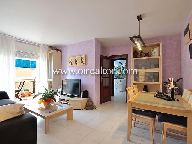 Atractivo piso todo exterior en Premià de Mar