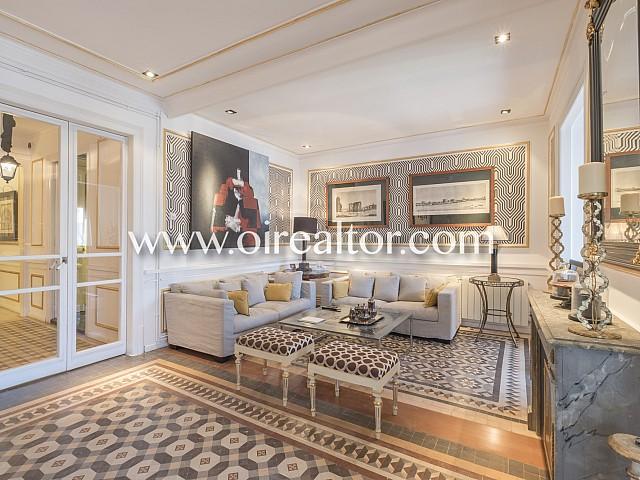 Lujoso apartamento en venta en la Derecha del Eixample, Barcelona