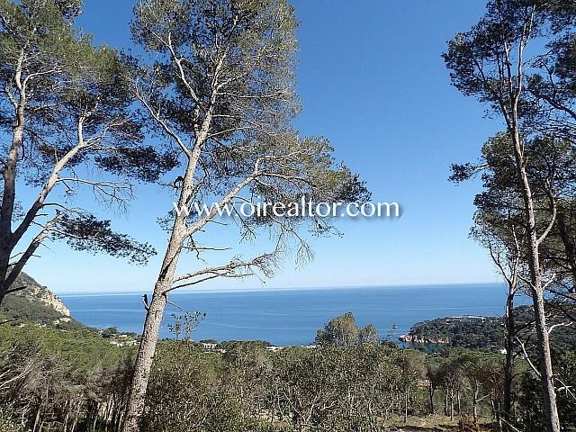 Gran solar con las mejores vistas al mar en Begur