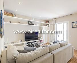 Hochwertige Wohnung mit Terrasse und Parkplatz in Quadrat d'Or, Barcelona